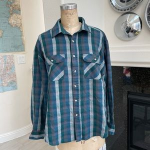 Vintage High Sierra flannel shirt XL plaid